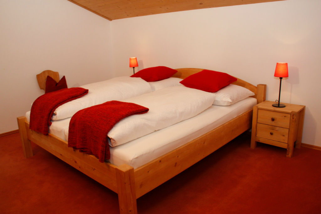 Rotes Schlafzimmer