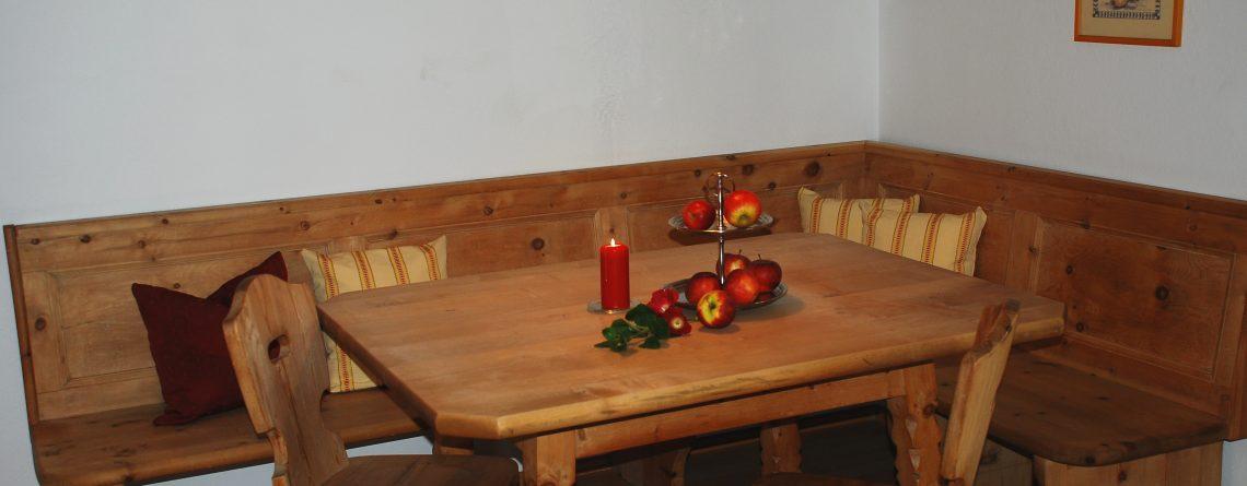 E Zirbenholz Sitzecke