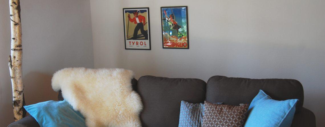 F Gemütliches Wohnzimmer
